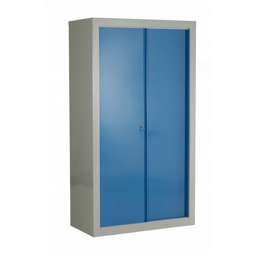 Euro double sliding door cabinet for Double sliding doors