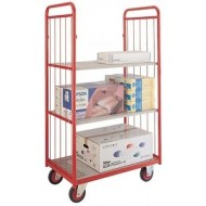 Shelf Truck Narrow Aisle Deck plus 2 Ends, 2 Shelves and 1 Side