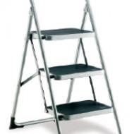 Step Ladders Three Treads Platform Height 710mm