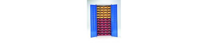 Plastic Bin Cabinets