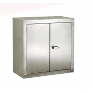 Stainless Steel CB Cupboard H915 x W915 x D457mm 1 Shelf