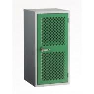 Mesh Door Cabinet H915 x W457 x D457mm 1 Shelf