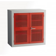 Mesh Door Cabinet H915 x W915 x D457mm 1 Shelf