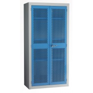 Mesh Door Cabinet H1830 x W915 x D457mm 3 Shelves
