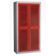 Mesh Door Cabinet H1830 x W915 x D457mm Full Set