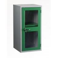 Polycarbonate Door Floor Cabinet H915 x W457 x D457mm 1 Shelf