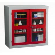 Polycarbonate Door Cabinet H915 x W915 x D457mm 1 Shelf