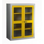 Polycarbonate Door Cabinet H1220 x W915 x D457mm 2 Shelves