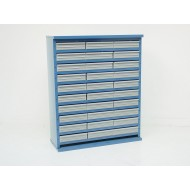 15 Drawer Cabinet 670mm High 305 Or 460mm Deep Without Doors