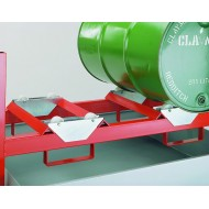 Drum Retaining Bar Optional Extra For Stacking Drum Racking System