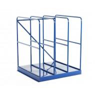 Full-height sheet rack