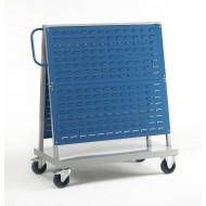 Louvre Panel Trolley Double Sided 2 Panels High