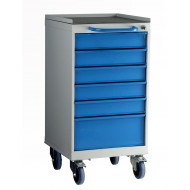 6 Drawer Mobile Cabinet H980 X W500 X D615mm