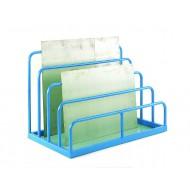 Multi-height sheet rack