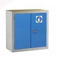 PPE Cabinet H915 x W915 x D457mm 2 Shelves