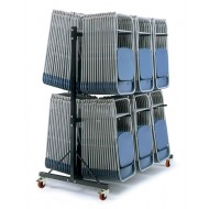 High Hanging Chair Storage Trolley 3 Rows