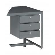 3 Drawer Unit - Left Hand Fitting