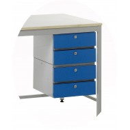4 Drawer Unit - Left Hand Fitting