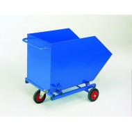 Tilting Skip Bin with Perforated Base & Drain Tap