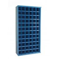 72 Steel Bin Cabinet 355mm Deep 1820mm High Bin Size 148 X 148mm