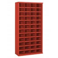48 Steel Bin Cabinet 305mm Deep Height 1820mm  Bin Size 222 x 148mm