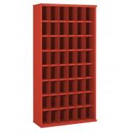 48 Steel Bin Cabinet 305mm Deep Height 1820mm  Bin Size 148 x 220mm