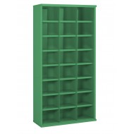 24 Steel Bin Cabinet 1820mm High 355mm Deep Bin Size 296 X 220mm