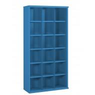 18 Steel Bin Cabinet 1820mm High 460mm Deep Bin Size 296 X 293mm