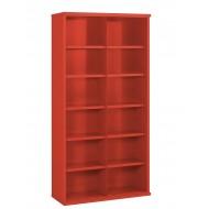 12 Steel Bin Cabinet 1820mm High 305mm Deep Bin Size 445 X 293mm