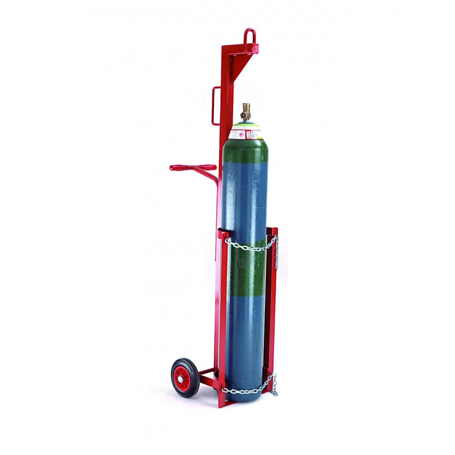 Cylinder Lifting Equipment : Cylinder lifting trolley for mm diameter cylinders