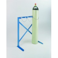 Floor Fixing 3 Cylinder Floor Rack for 100 - 180mm Diameter Cylinders