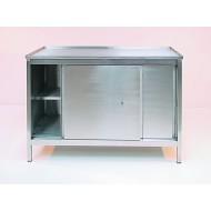 Stainless Steel Cupboard Bench L1200 x W750mm