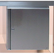 Stainless Steel Small Cupboard Unit - Left Hand Fitting