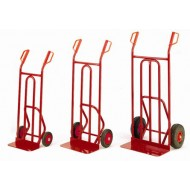 Sack Truck with Fixed Toe Capacity 150kg Overall Size H1070 x W495mm