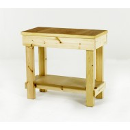 Timber Workbench 1000x500mm Plywood Top