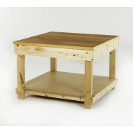 Timber Workbench 1200x1200mm Plywood Top