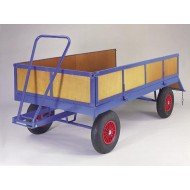 Single Ackerman Trailer with headboard, sides and tailgate