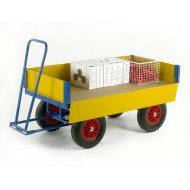Hand Turntable Trailers with Drop Down Steel Sides - 1200x600mm