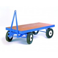 Turntable Towing Trailer Heavy Duty  - 2000x1000mm - Flush ply deck