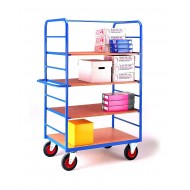 Shelf Truck Standard 1000 x 700mm Deck Shelf Levels 635, 1005 & 1375mm