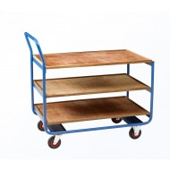 Workshop Trolley - 3 Plywood Shelves