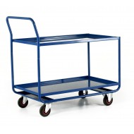 Workshop Trolley with 2 Steel Shelves