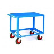Table Trucks 1000x600mm Steel Deck Top Deck Only 500kg Capacity