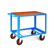 Table Trucks 1000x600mm Timber Top Deck Only Capacity 500kg