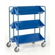 Book Trolley Available in Red, Green, Yellow and Blue