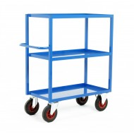 Heavy Duty 3 Tray Trolley 1200mm Height