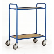 2 Tray Trolley Plywood Tray Size 760x457mm