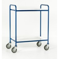 2 Tier Tray Trolley  White Tray Size 760 x 457mm