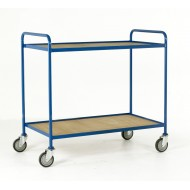 2 Tray Trolley  Plywood Tray Size 1065 x 610mm