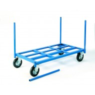 Warehouse Stanchion Truck Capacity 500kgs 1300x700mm